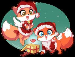 Skyfox Christmas! by DVixie