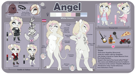 Angel Reference Sheet by DVixie
