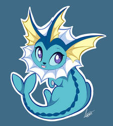 Vaporeon by DVixie