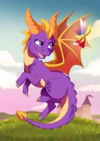 Spyro by DVixie