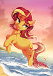 Sunset at Sunset by DVixie