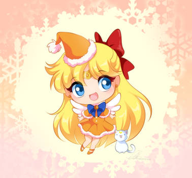 Sailor Venus Christmas chibi