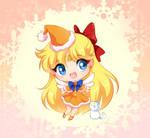 Sailor Venus Christmas chibi