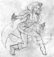 Thief girl by Darkmir