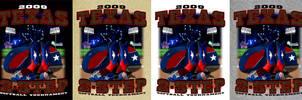 Texas 2 Step revised colorways by Darkmir