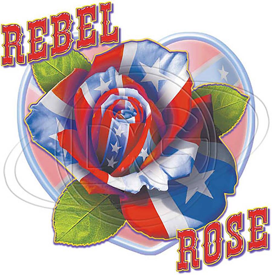 Transfer design 5 Rebel Rose by Darkmir