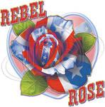 Transfer design 5 Rebel Rose