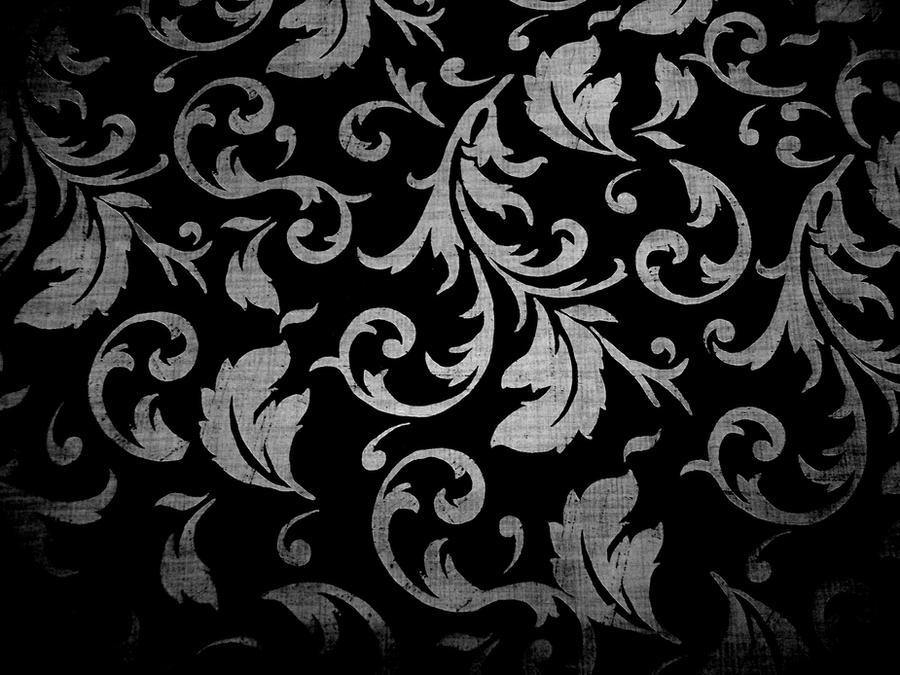 Dark Floral Texture