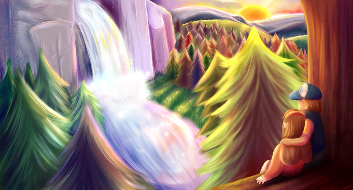 Gravity Falls by rainbowkes