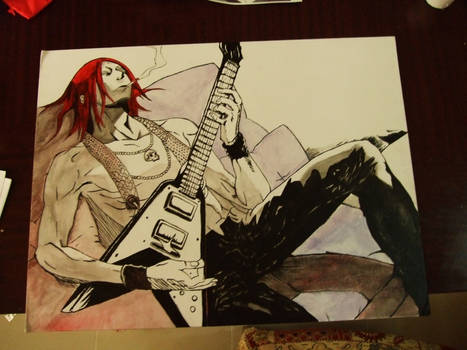Azuma Genkaku - Deadman Wonderland Speed Painting