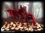 Red Dragon poseable by zlatafantasydolls