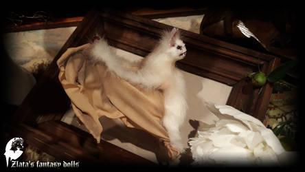 White Vampire Bat N2 by zlatafantasydolls