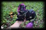Black unicorn by zlatafantasydolls