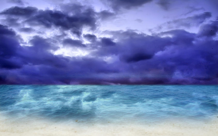 Stormy Beach Wallpaper: Stormy Beach By Boboman13 On DeviantArt