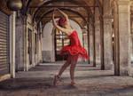Dancer in Venice