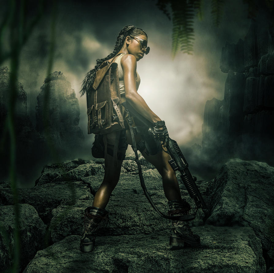 Tomb Raider by WesterArt