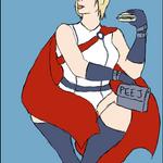 Power Girl by AzSapphire