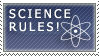 Science Rules Stamp