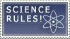 Science Rules Stamp by Erandir