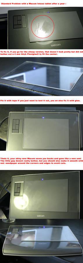 Wacom scratch -fix quick guide