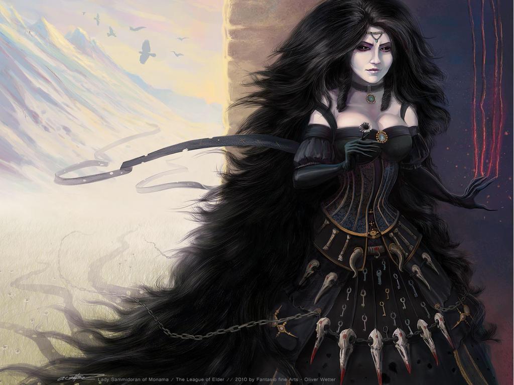 Lady Sammidoran LoE Wallpaper by fantasio