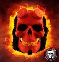 Hellboy: Skullified by fantasio
