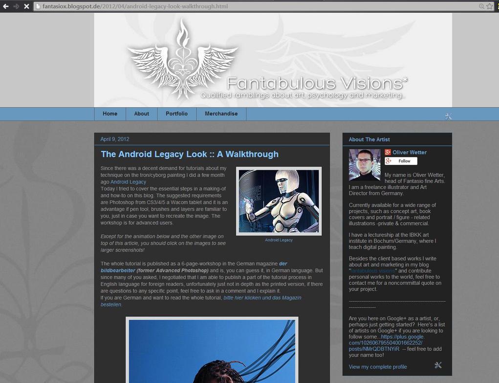 Blog by fantasio