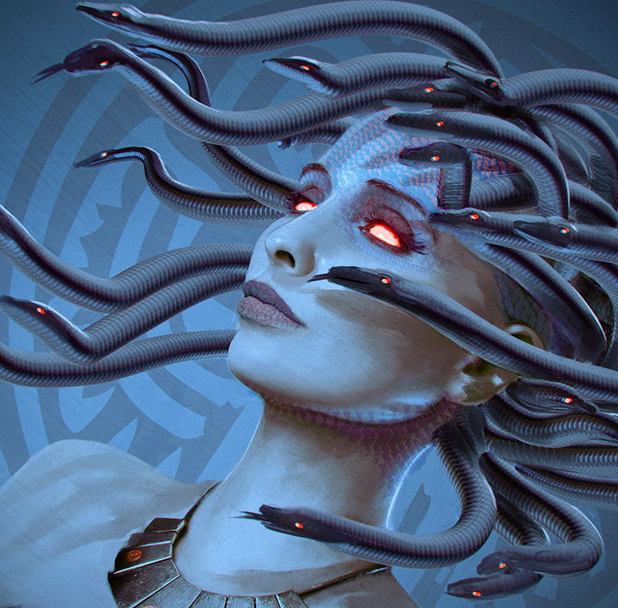 Fata Medusa 2014 by fantasio