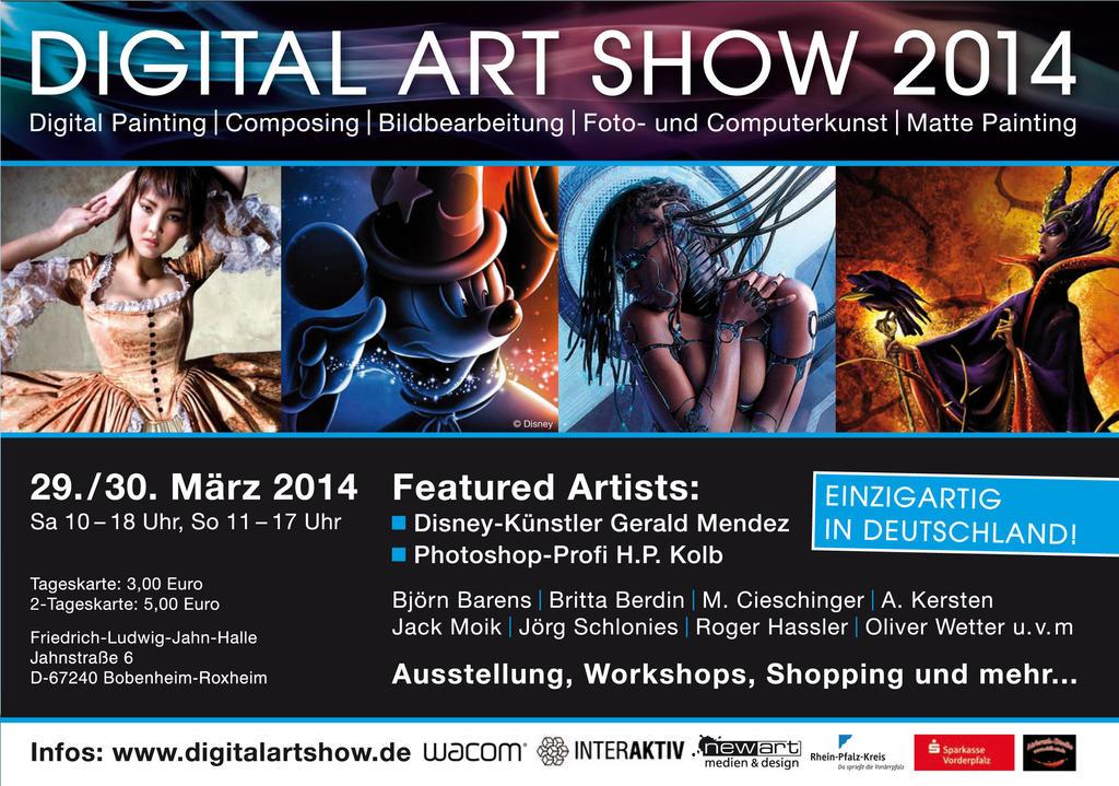 Digitalartshow ad by fantasio
