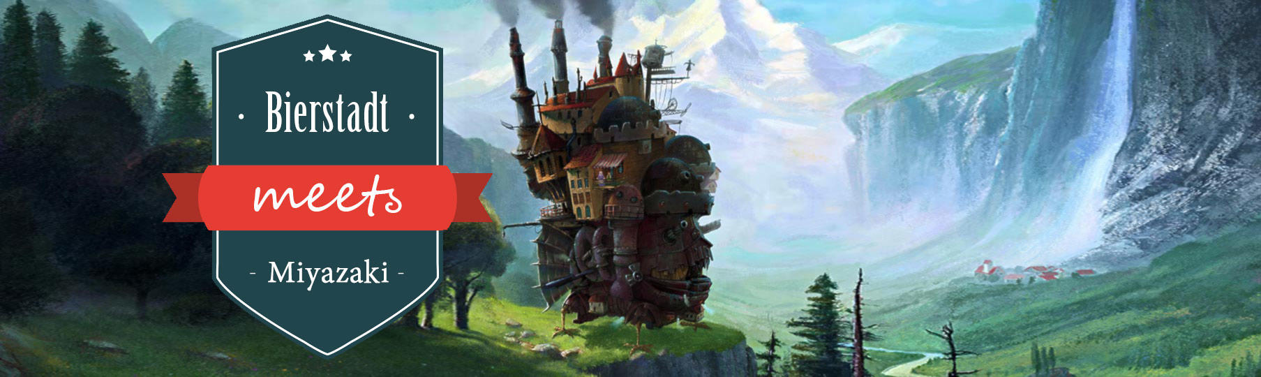 Howl´s Moving Castle at Staubbach Falls by Oliver Wetter / Fantasio http://fav.me/d7hib6v