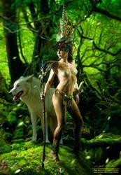 Amazon Princess by fantasio