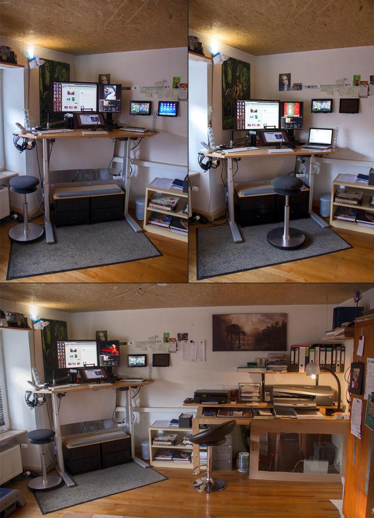 Fantasio Workspace 2014 by fantasio