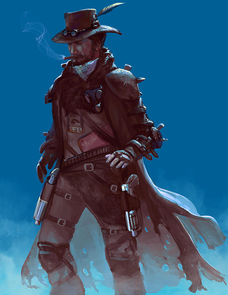 Gunslinger by fantasio on deviantart - Gunfighter wallpaper ...