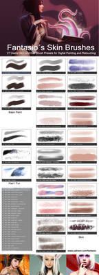 Skin Brushes-Fantasio