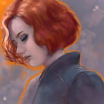 Natasha -- portrait study
