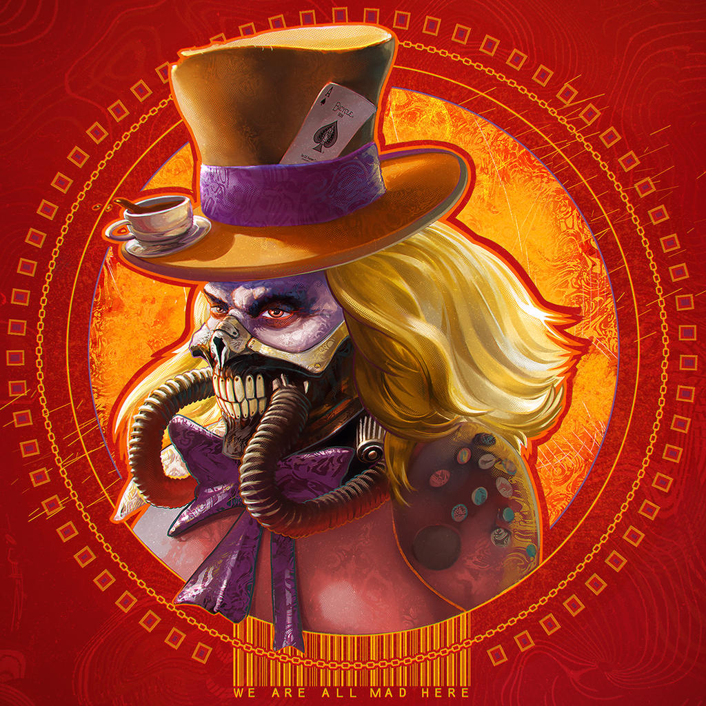 Mad Immortan Hatter Joe by fantasio