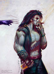 Lobo VS. Wolverine - Phil Hale Tribute by fantasio