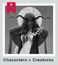 Character + creature design portfolio