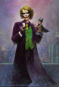 Joker VS. Batman - after Krueger