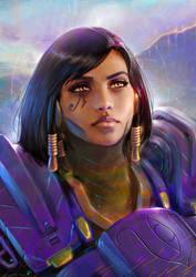 Pharah Portrait