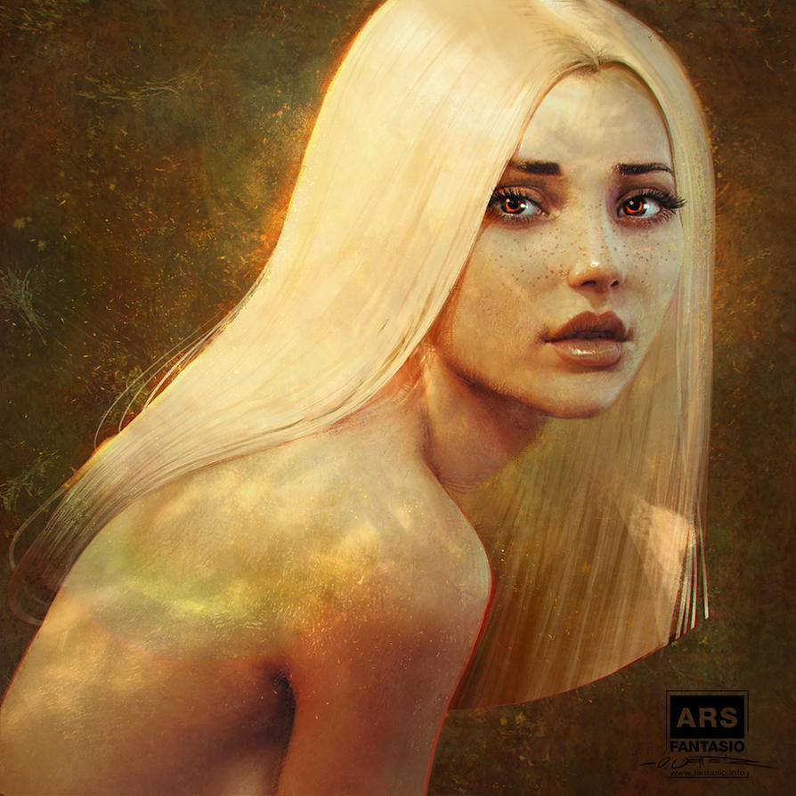 Autumn - Lighting + Impresssionism Painting Study by fantasio