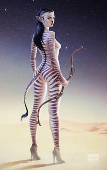 Cebra Girl: Hunter or Prey?