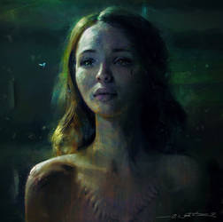 Laura Moon Portrait Study