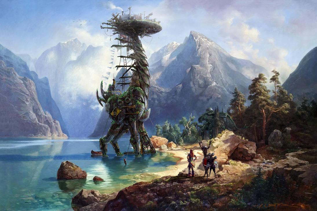 Horizon Zero Dawn - Coming Home by fantasio