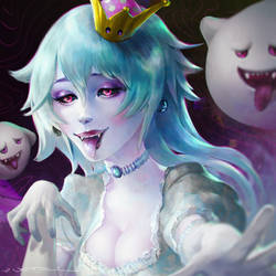 Boosette - Portrait Study by fantasio