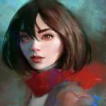 Mikasa - Portrait study