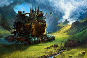 Mortal Engine: Luxembourg by fantasio