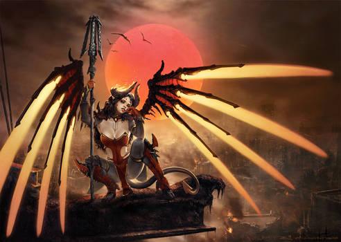 Devil (Skin) Mercy after Royo