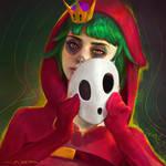 Shy-Gal - Portrait Study