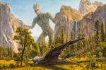 Mega Groot and Benatar at Bridal Veil Falls